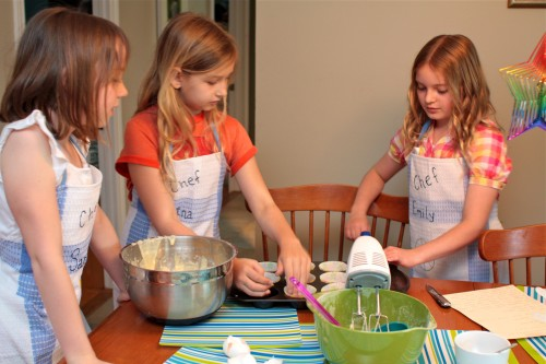 Peachy Encourage Kids To Cook By Hosting A Cooking Themed Birthday Home Remodeling Inspirations Genioncuboardxyz