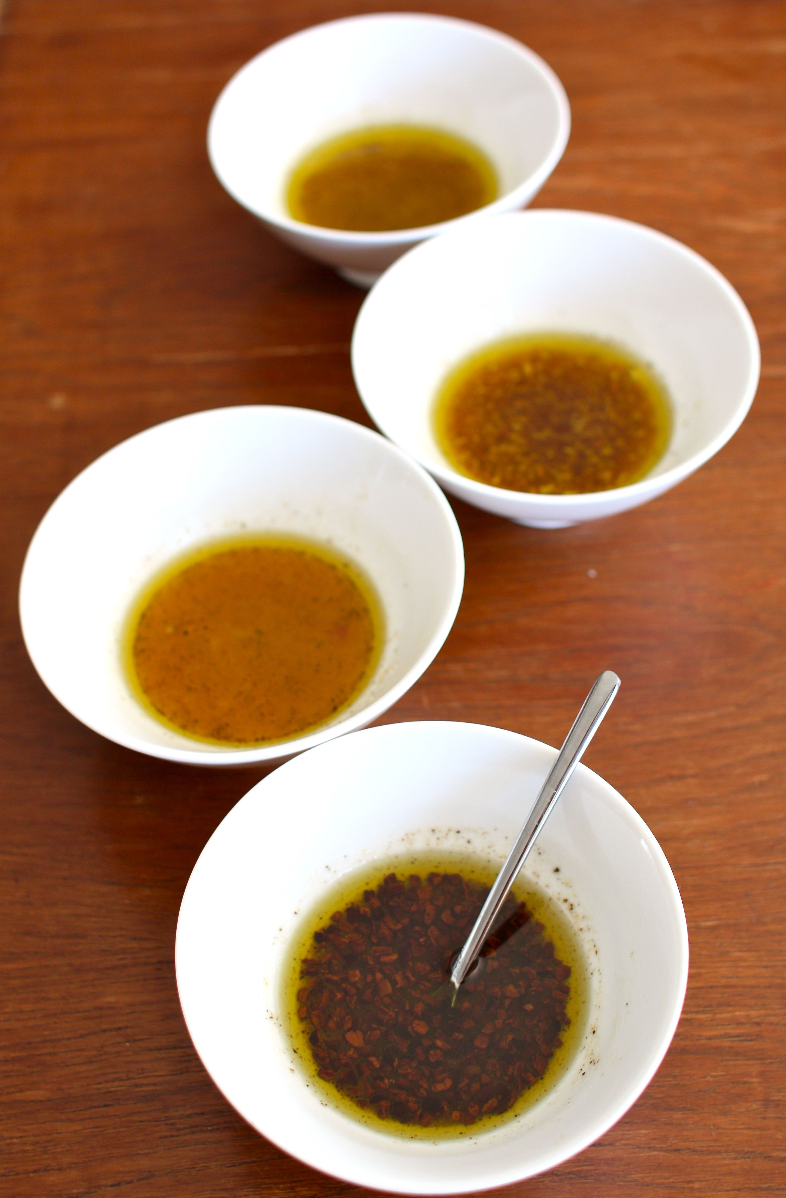 Four Variations on Maple Vinaigrette and A Sugaring Off