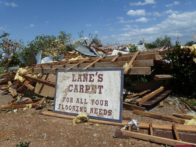 Bloggers without Borders Etna Denning Arkansas tornado