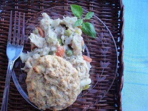 Easy chicken and biscuits pot pie remake 4