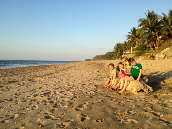 Traveling with kids in Mexico