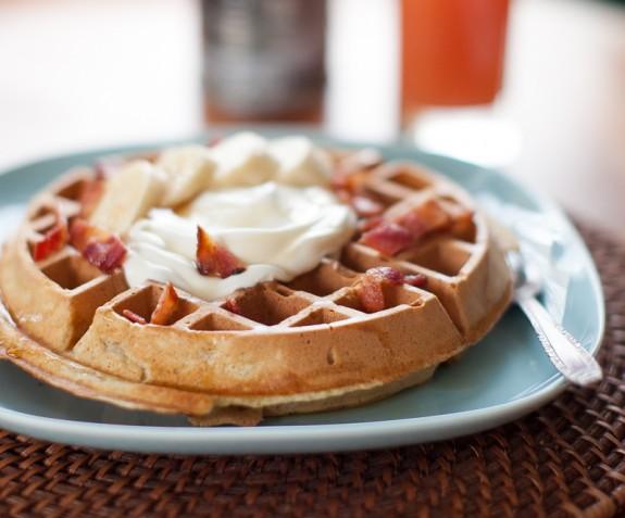 morning waffles
