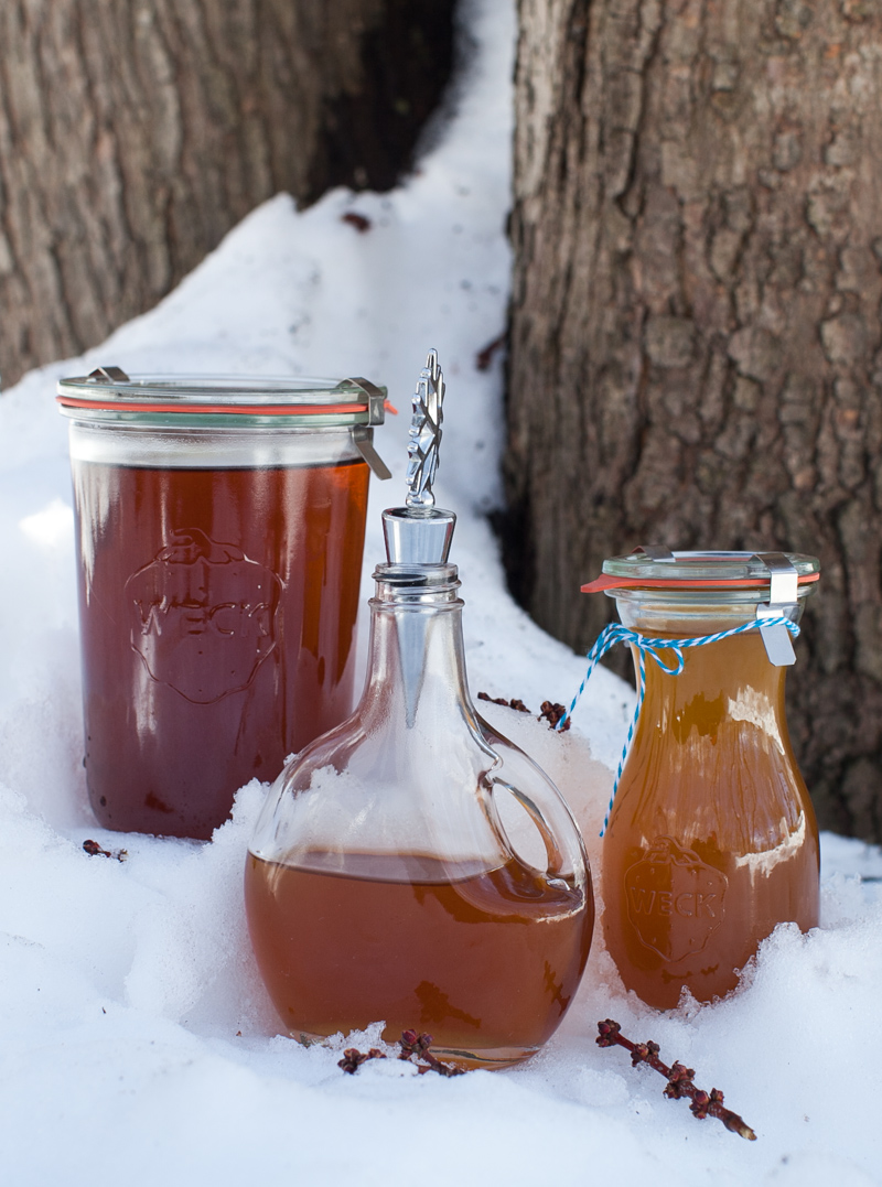 what we're making with our maple syrup