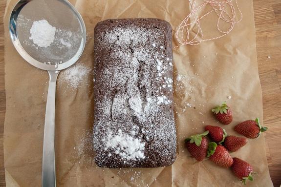 Chocolate & Jam Tea Cake