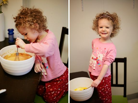 kids in the kitchen and Paleo Pumpkin Pancakes