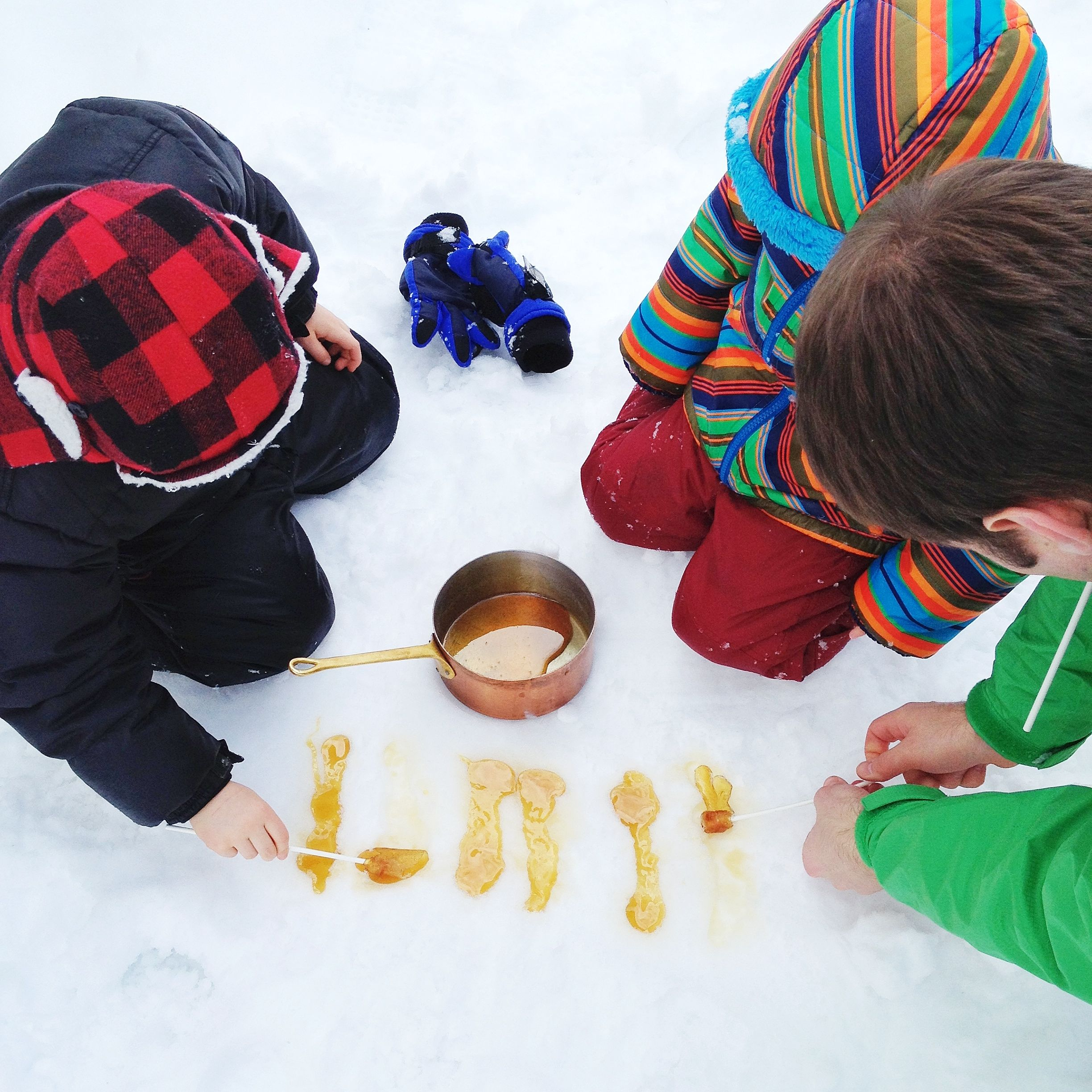 Spring harvest: what we're making with our maple syrup