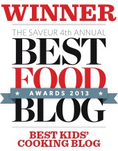Saveur 2013 Food Blog Awards Badge