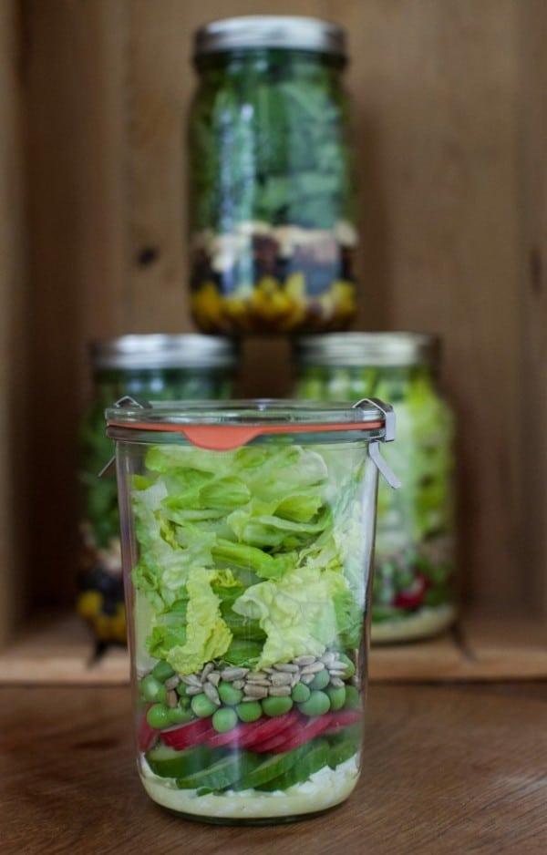A week of Salads in Jars on simplebites.net #salad #jars #lunch #realfood