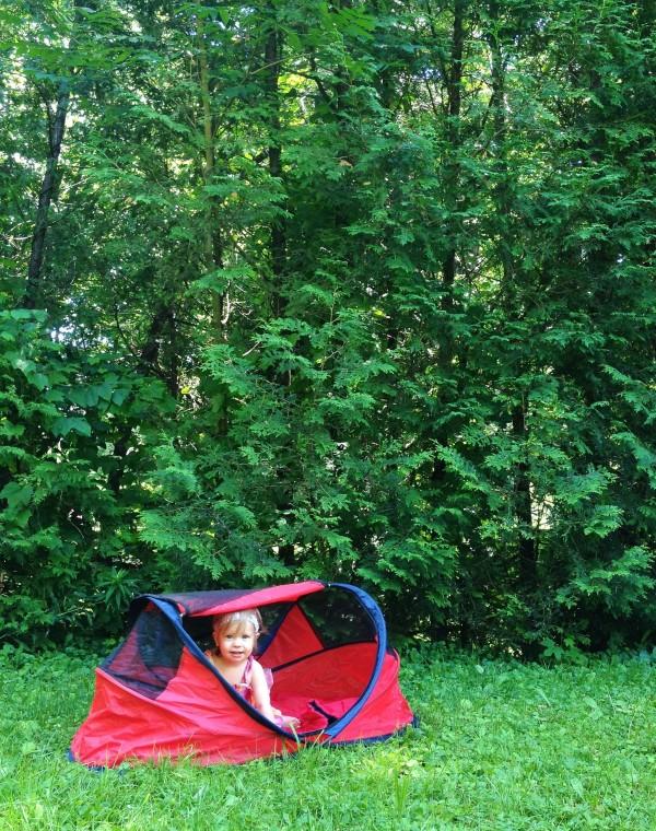 Clara's tent