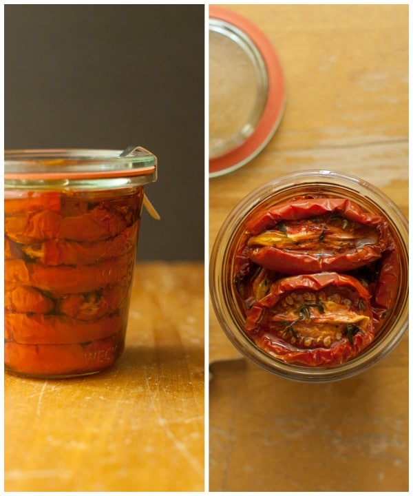 Preserving oven dehydrated tomatoes on simplebites.net