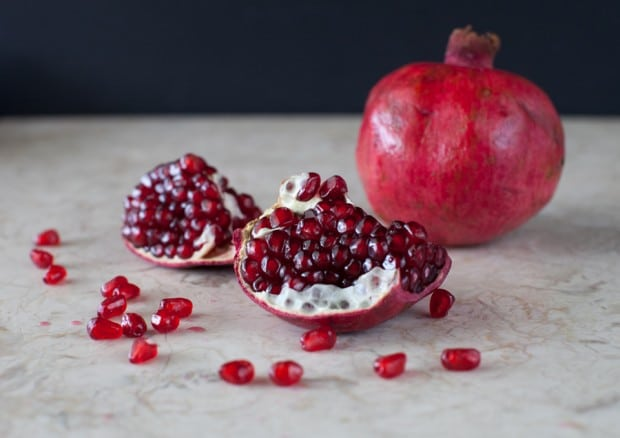 Pomegranate love on www.simplebites.net