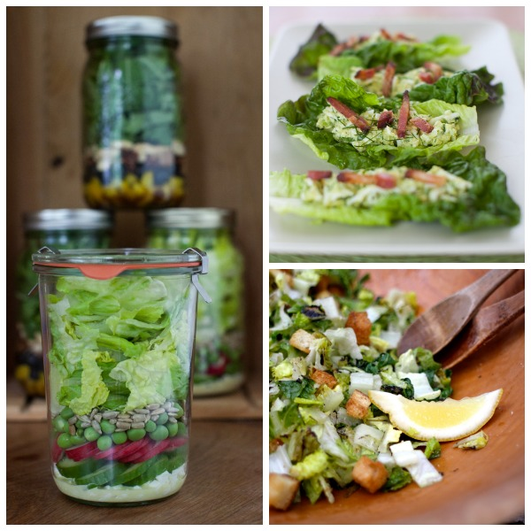 Three ways to use up lettuce on simplebites.net