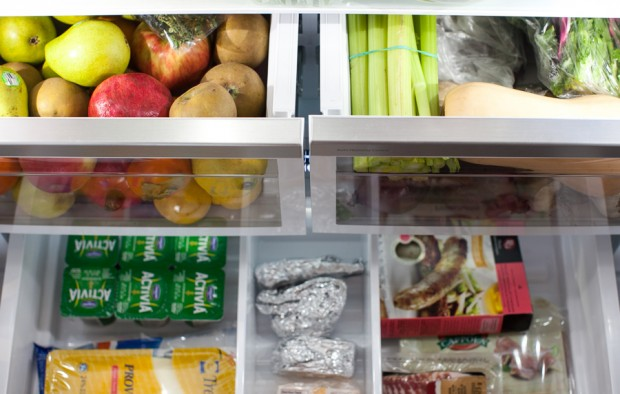 Simple Bites Kitchen Tour: Fridge & Freezer Organization #kitchen #hacks