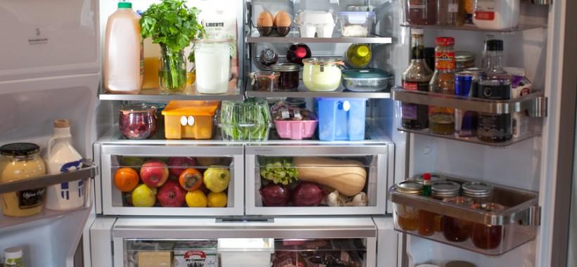 tour my kitchen: refrigerator and freezer organization | simple bites