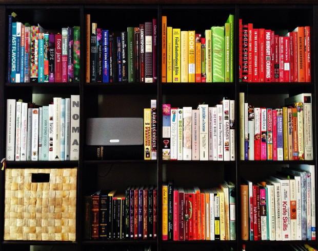 Simple Bites Cookbook Shelf