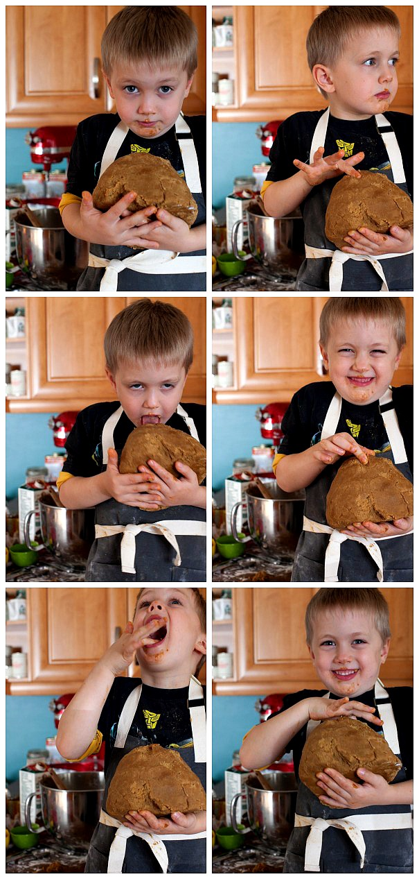 The after school gingerbread project: OUTTAKES