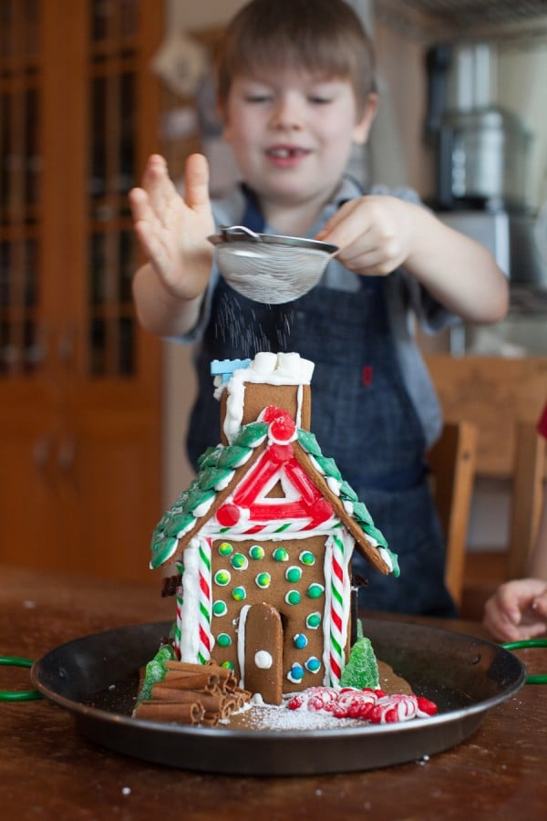 Kids in the kitchen: The after school gingerbread project