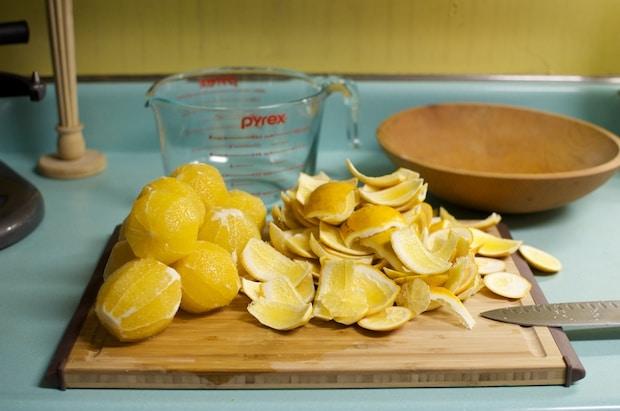 skinned oranges