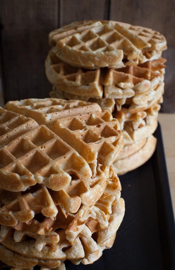 How to freeze a big batch of homemade waffles // Simple Bites