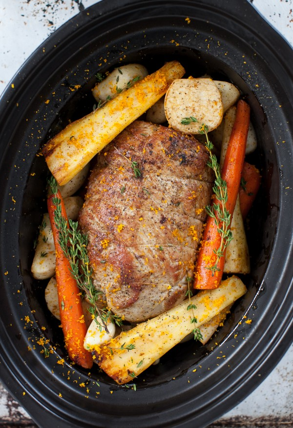 Veal Pot Roast with Root Vegetables (slow cooker) | Simple Bites #recipe #slowcooker #dinner #eatseasonal
