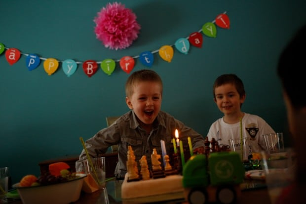 A birthday party mingle for Clara and Mateo | Simple Bites #birthdaycake #birthdayparty #kids #cake