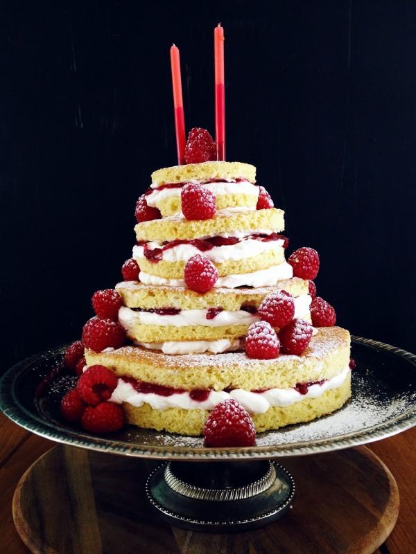 Raspberry Shortcake (iphone photo)