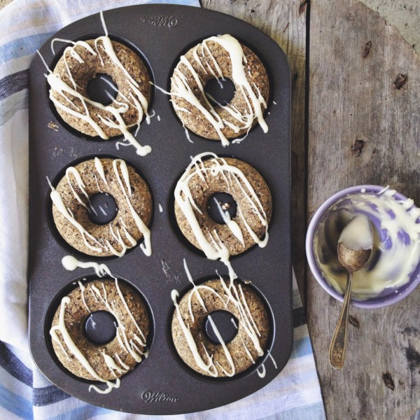 chia seed doughnuts