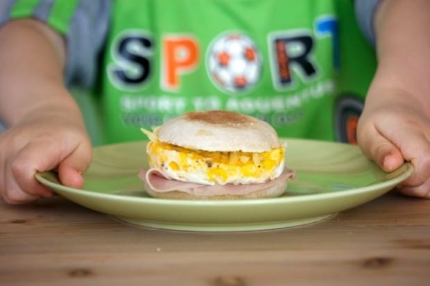 Homemade Egg-McMuffins-