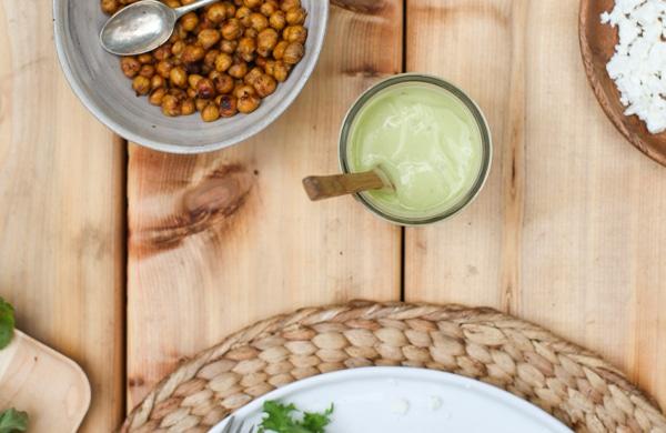 Tangy Avocado Dressing | Simple Bites #recipe #salad