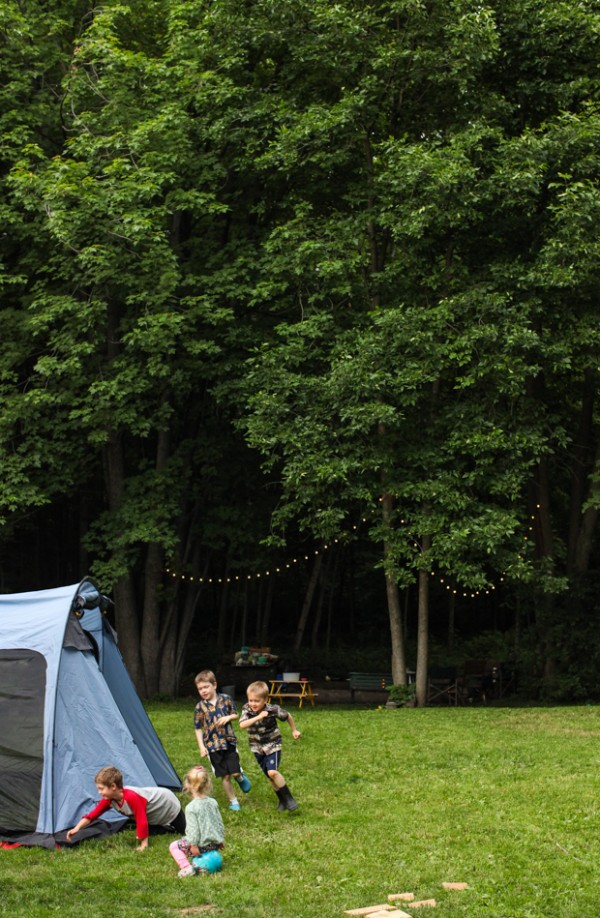 Tips for camping in the back yard   Simple Bites