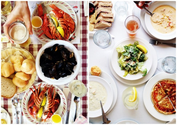 Lobster dinner. Family Travel in Prince Edward Island | Simple Bites