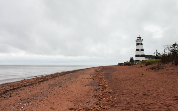 West Point Lighthouse. Family Travel in Prince Edward Island | Simple Bites