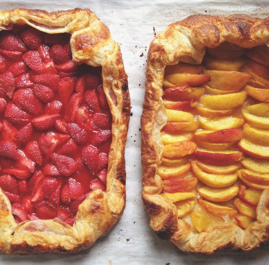 Two fruit galettes | Simple bites