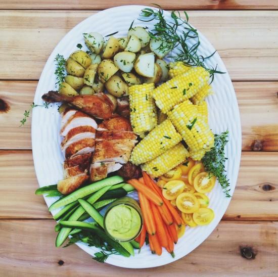 Summer dinner platter | Simple Bites