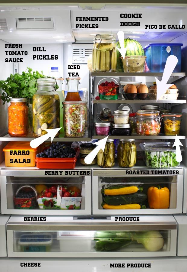 Dinner ideas from the late summer fridge | Simple Bites