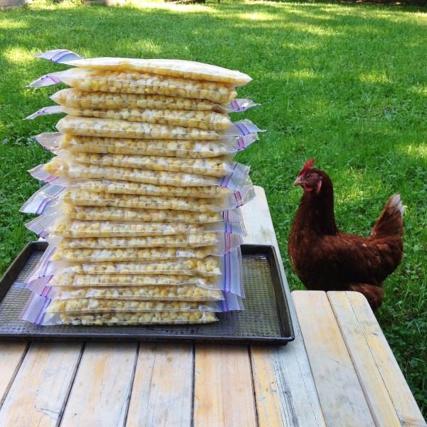 corn stack