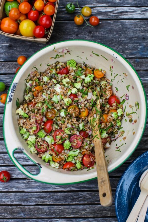 tomato farro salad   Simple Bites