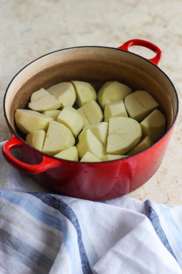 Secrets to the best mashed potatoes | Simple Bites #eatseasonalholiday