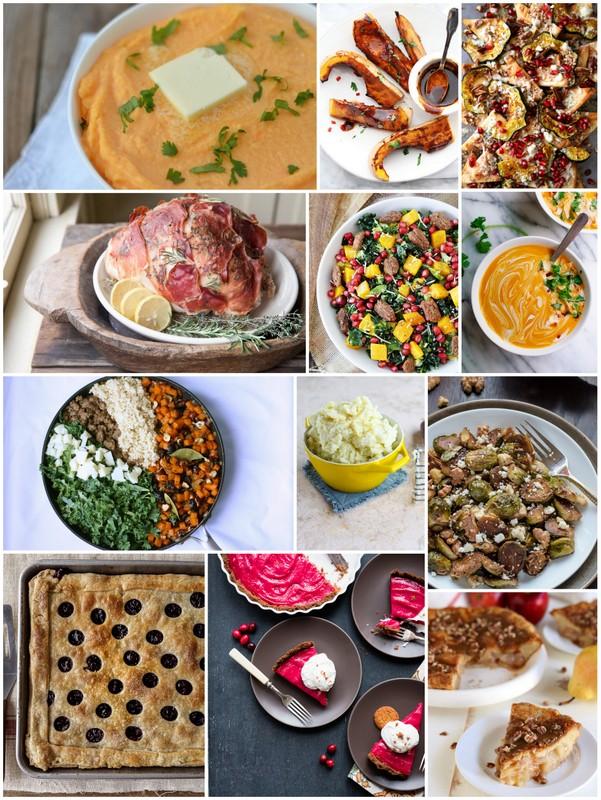 Thanksgiving-Seasonal-Recipes collage