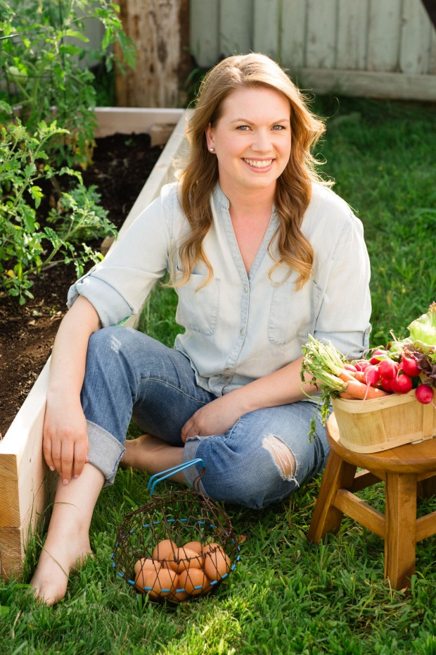 Aimee Wimbush-Bourque, author, Brown Eggs & Jam Jars
