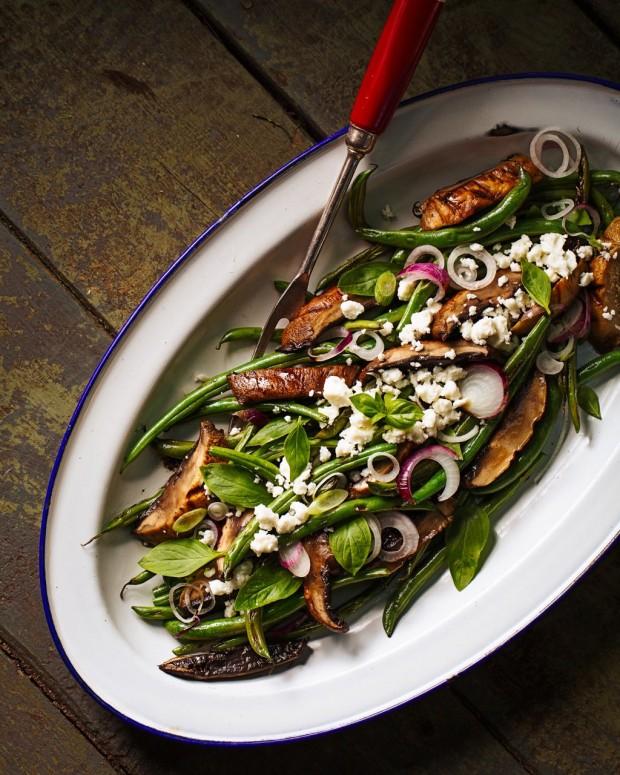 Green Bean Salad- Brown Eggs & Jam Jars