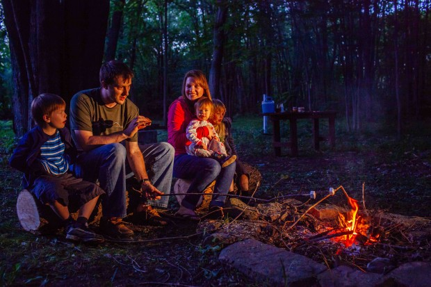 Brown Eggs & Jam Jars: summer campfire
