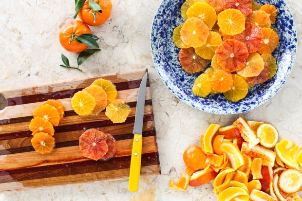 Citrus Salad with Honey-Cinnamon Glaze :: Simple Bites