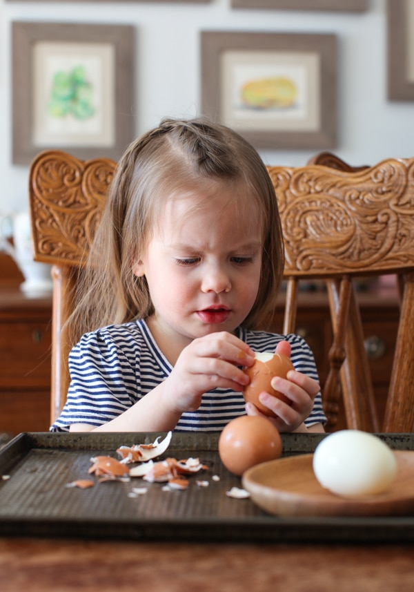 Kitchen tasks kids can do ages 3-5 | Simple Bites