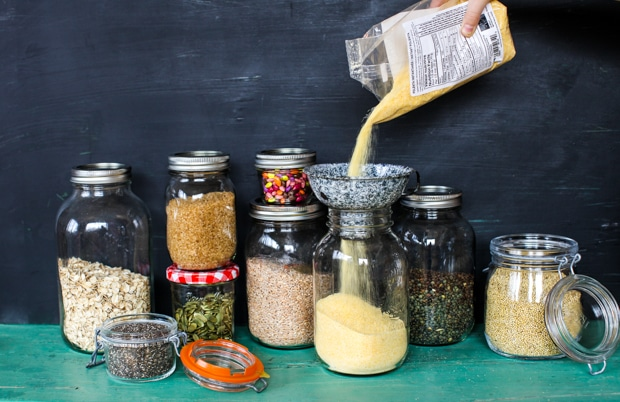 Inspiration to Spring Clean the Pantry