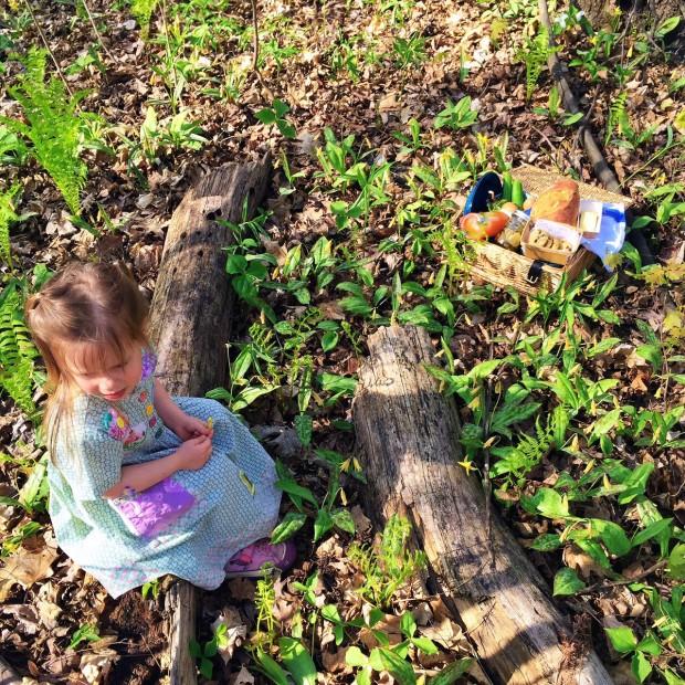 Clara picnic afternoon
