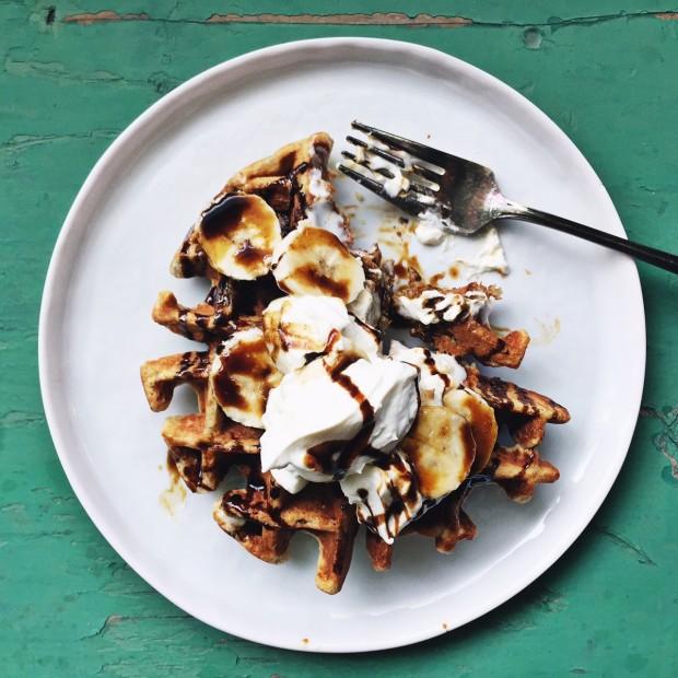 Homemade eaffles