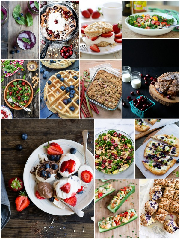Eat Seasonal June blogger photos