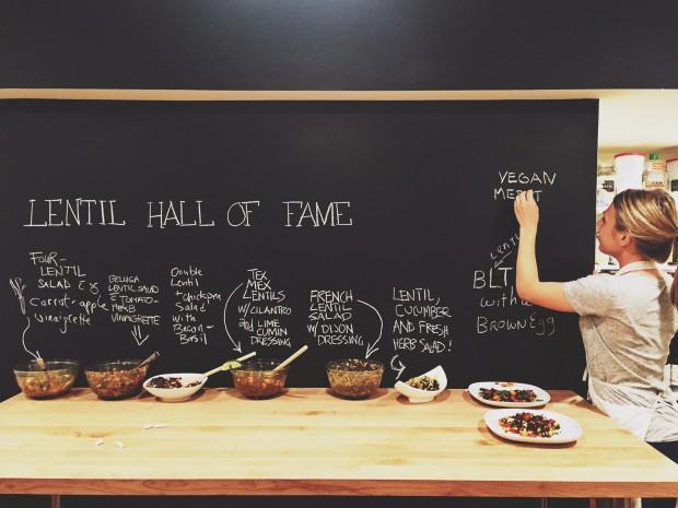 Lentil hall of fame