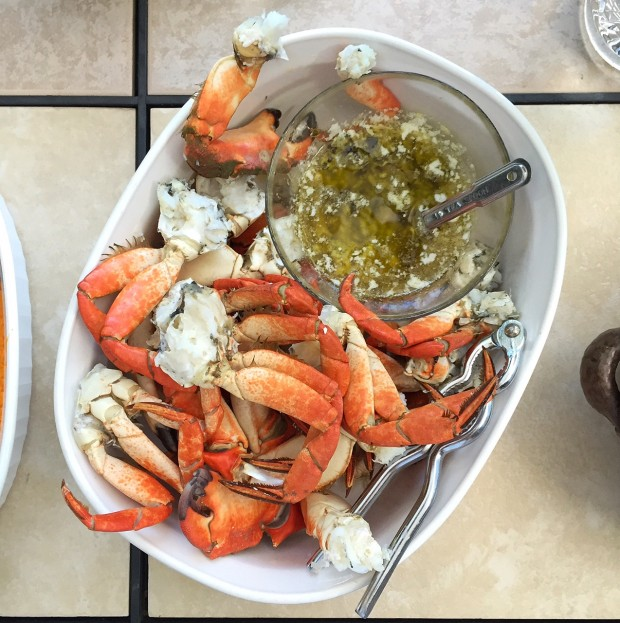 Fresh caught crabs cooked || Simple Bites